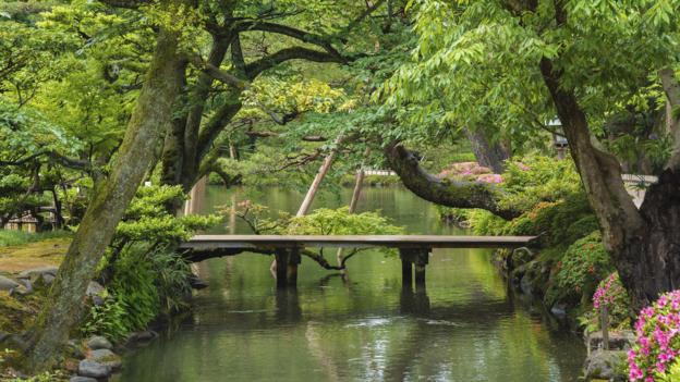 Japan's perfectly imperfect garden