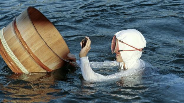 Japan's last female 'Ama' pearl-divers