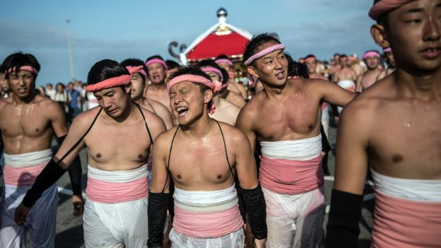 Japan's 'naked' festival of the gods