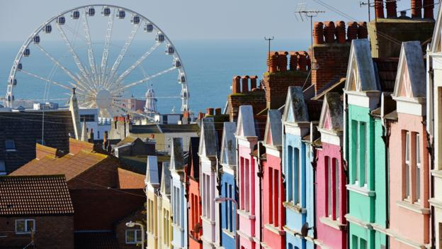 Brighton regularly tops lists of the happiest places in the UK to live (Credit: Credit: oversnap/Getty Images)