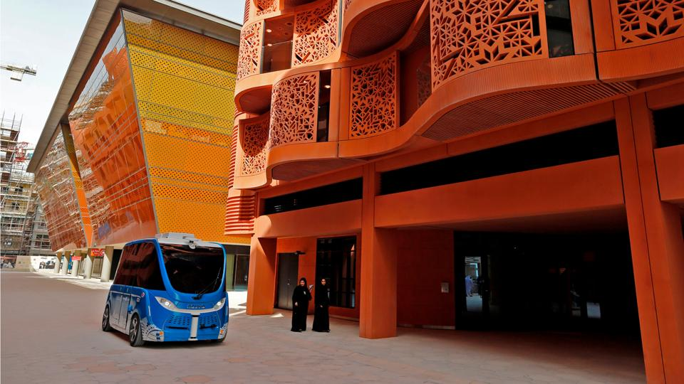 Abu Dhabi's Masdar City was originally supposed to be off-limits to cars (Credit: Getty Images)
