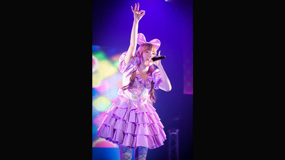 Kyary's first album, Pamyu Pamyu Revolution was released in May 2012 and has sold over 200,000 copies.  (Asobi System)