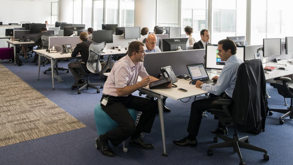 Some workers like open work spaces better than others (Photo credit: Citrix)