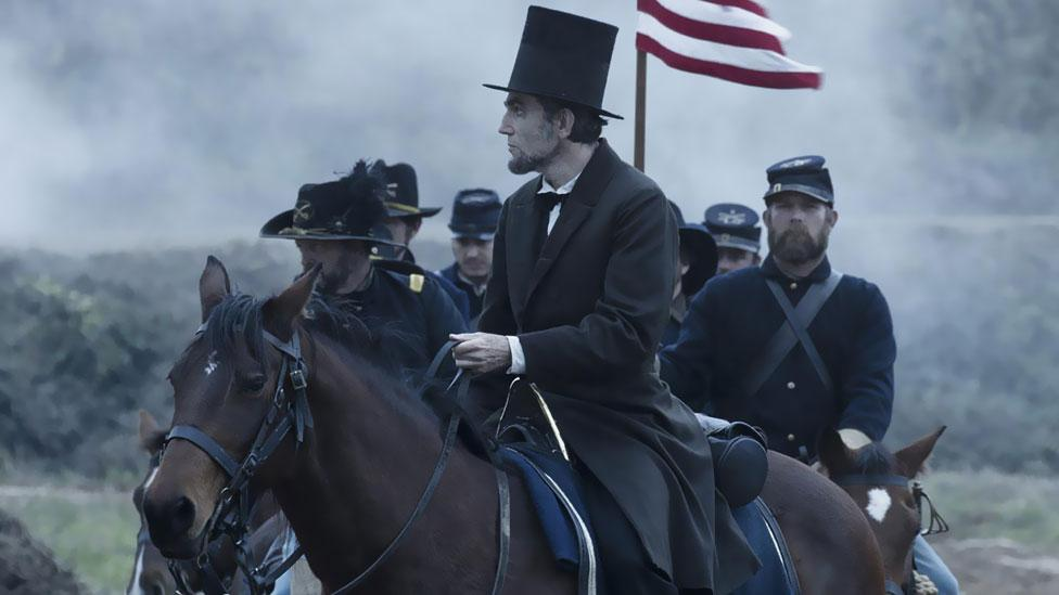 In 2012, he took on the subject from a different angle – from the perspective of Abraham Lincoln, and his attempts to abolish slavery once and for all. (Twentieth Century Fox)