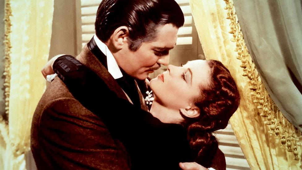 It is a departure from Hollywood's traditional treatment of the issue. Films such as Gone with the Wind are seen by some as presenting an unrealistic portrayal. (Rex Features)