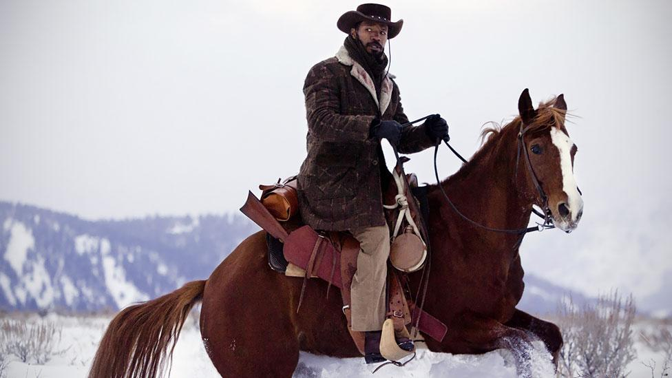 In 2012, Quentin Tarantino's Django Unchained was a fun, but visceral caper about a former slave who enacts revenge on an evil plantation owner. (The Weinstein Company)