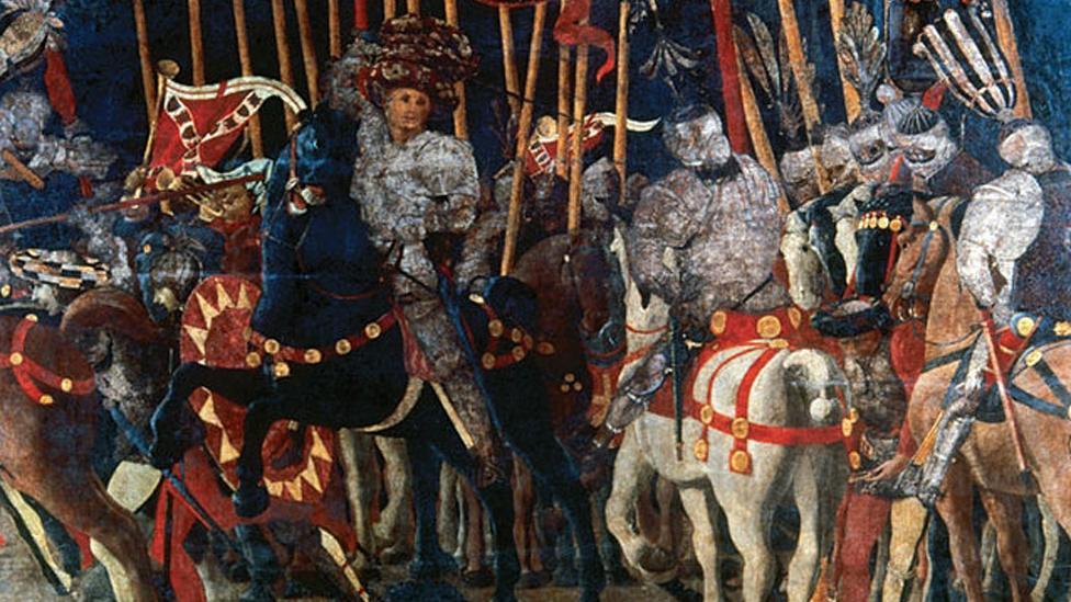 Paolo Uccello, The Battle of San Romano, c. 1438–40