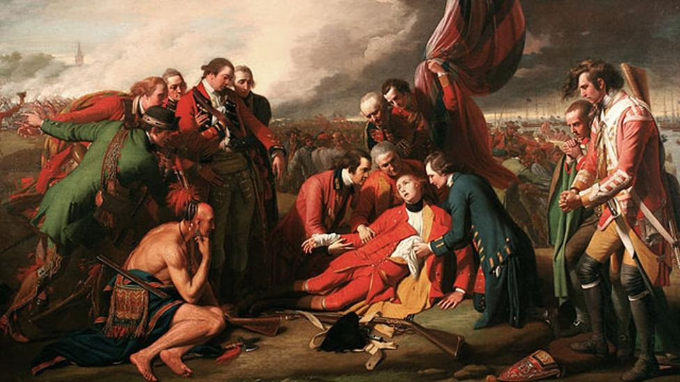 Benjamin West, The Death of General Wolfe, 1770