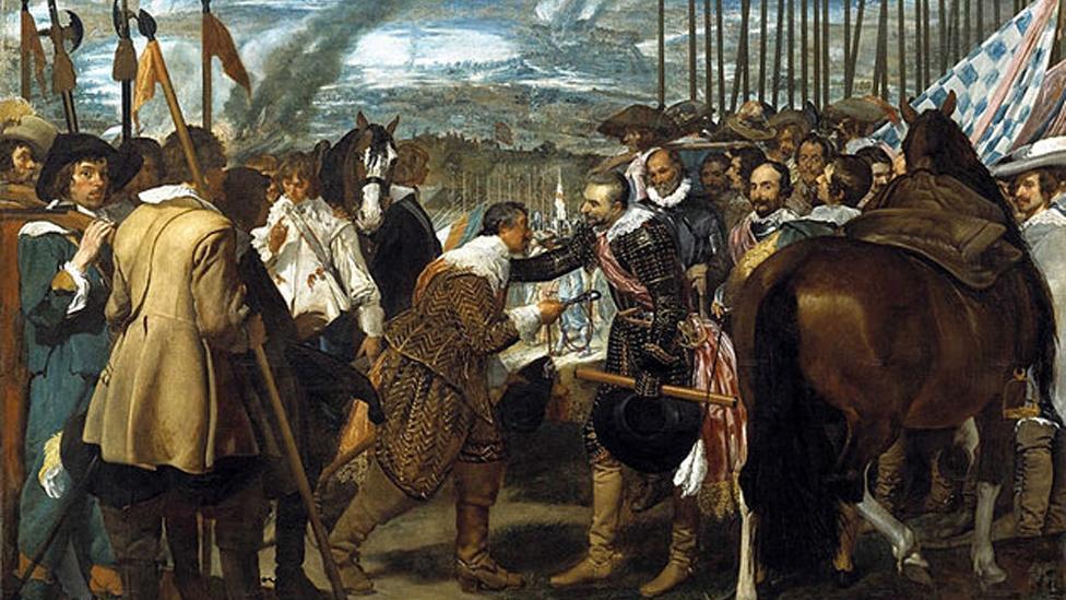 Diego Velázquez, The Surrender of Breda, 1634–35