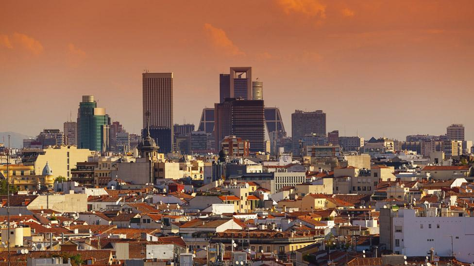 Madrid's central business district attracts multiple industries. (iStock)