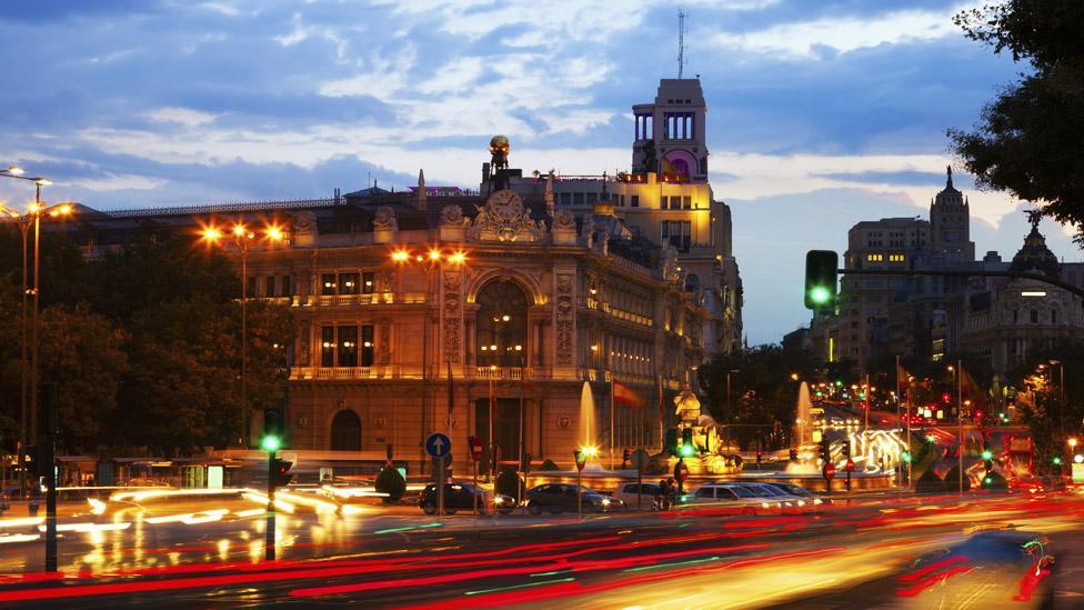 Madrid's iconic Plaza de Cibeles. (Thinkstock)