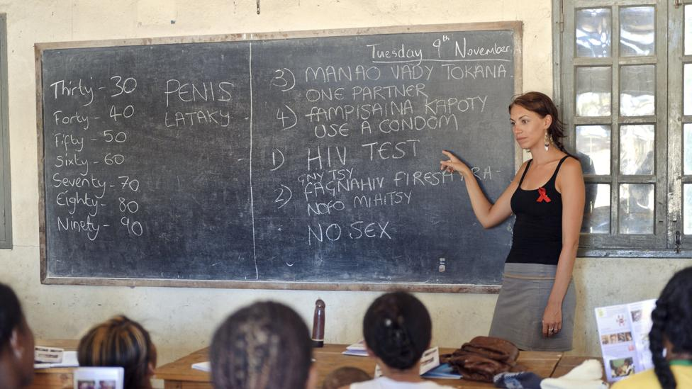 Sexual education in developing countries is promoting the use of female condoms (Science Photo Library)