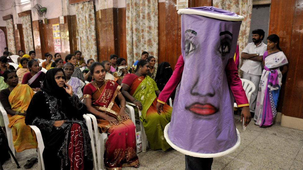 Promoting the female condom in poorer countries has had more effect than in the US (Getty Images)