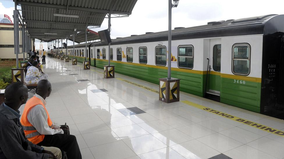 A taxi from the airport to the city centre can take hours. A train is planned for 2015. (Simon Maina/AFP/Getty Images)