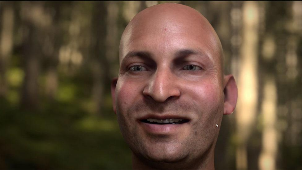 "Meet ""Digital Ira"", a virtual character that many have claimed has perfect human realism; achieving a similar feat in games will be more difficult. (Activision)"
