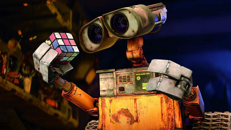 The puzzle has appeared in many films and TV shows over the past three decades. The film WALL-E shows even robots adore it. (Walt Disney Studio Motion Pictures)