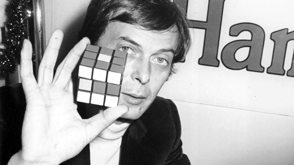 Hungarian architect and academic Ernő Rubik invented the cube in 1974. He was interested in its hidden mechanism but realised he had created an addictive puzzle. (Getty Images)
