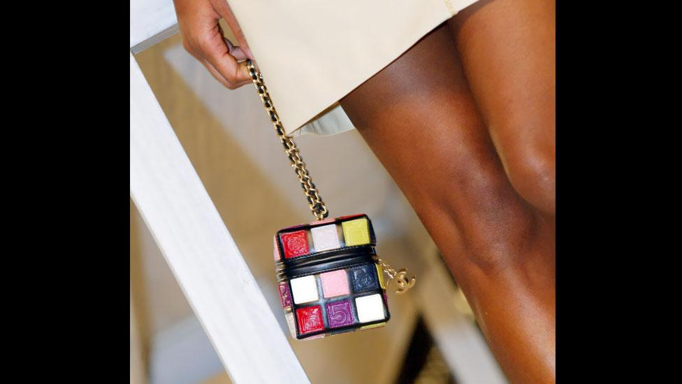 Chanel has even released a purse resembling a Rubik's Cube. (Corbis)