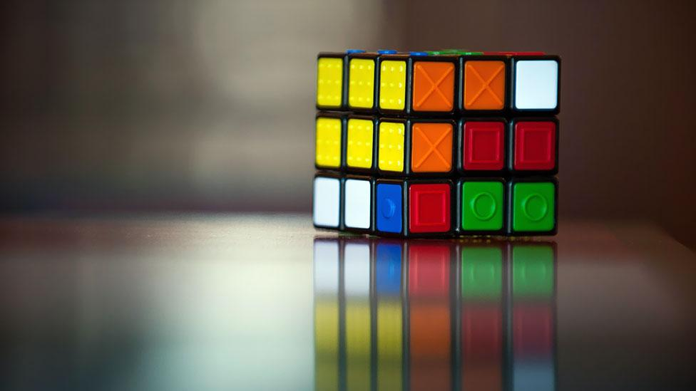 Many different variants of the Rubik's Cube have been made over the years – including Cubes with raised surfaces for the blind. (Epa European Press Photo Agency/Alamy)