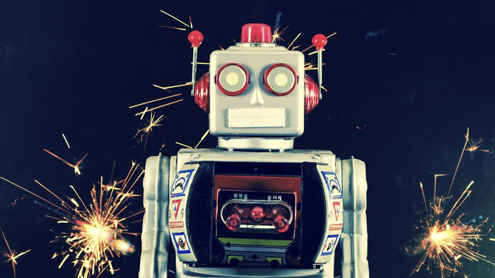 The man behind the ultimate robot extravaganza