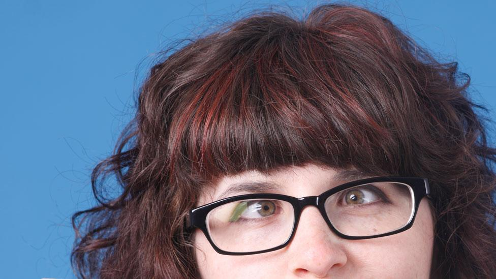 Glasses horrible teen eyesight