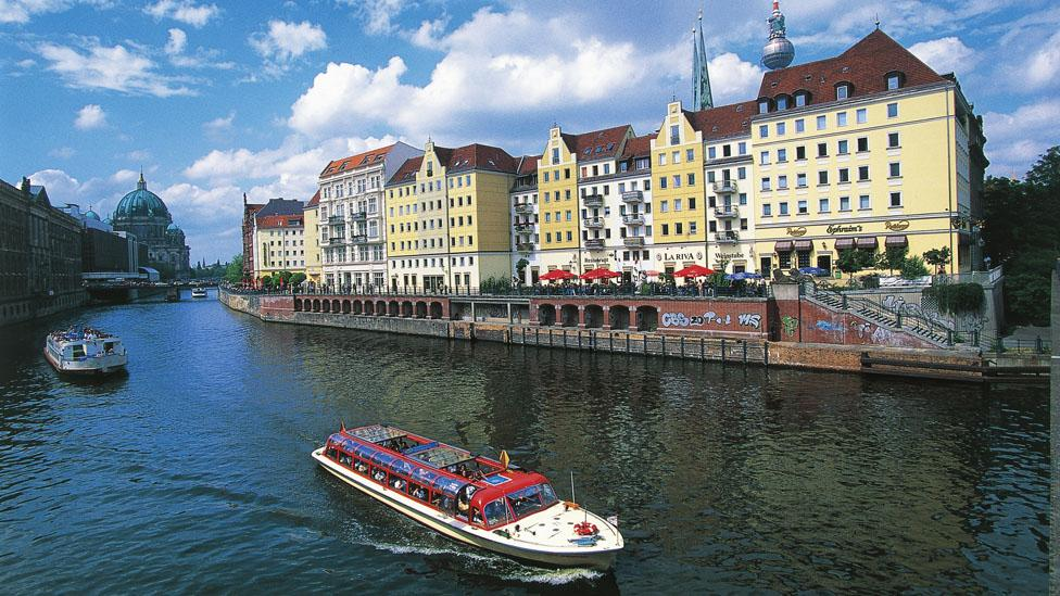 Berlin is drawing business travellers and Bohemians alike. (DeAgostini/Getty Images)