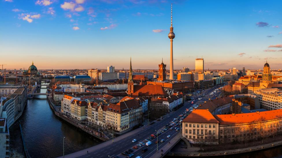 Berlin's affordable cost of living and vibrant culture make it a popular destination for visitors. (Jean Claude Castor/Getty Images)