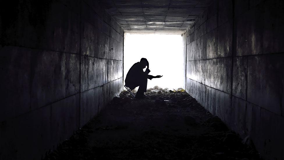 ...our blindness to widespread poverty? (Thinkstock)