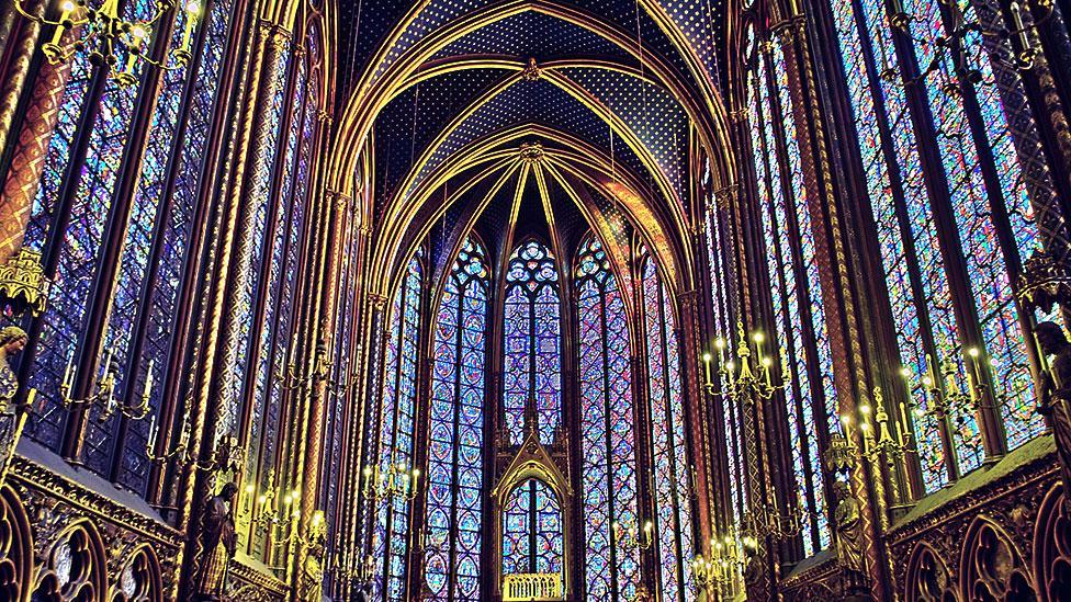 Sainte-Chapelle, mid-13th Century