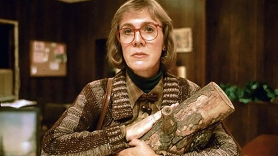 The Log Lady appears episodically to utter mysterious bon mots (ABC)