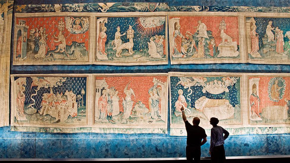 The Apocalypse Tapestry, 1377–1382