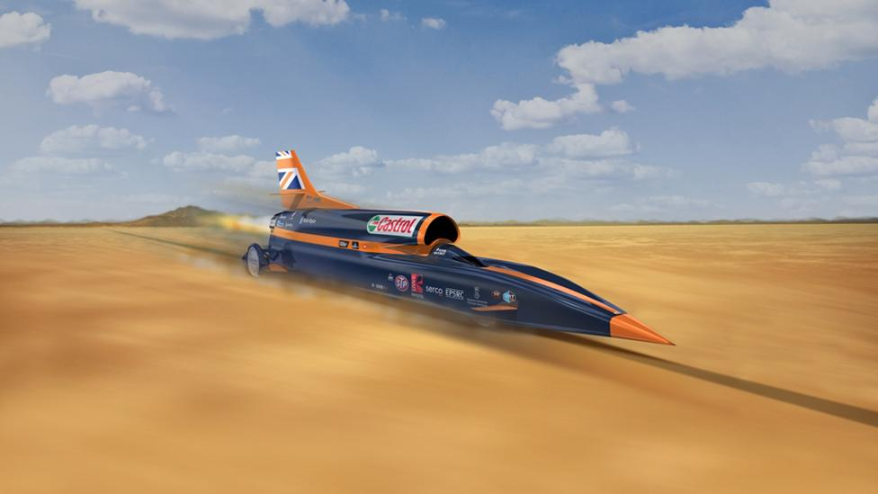 Bloodhound SSC: Meet the fastest car ever made
