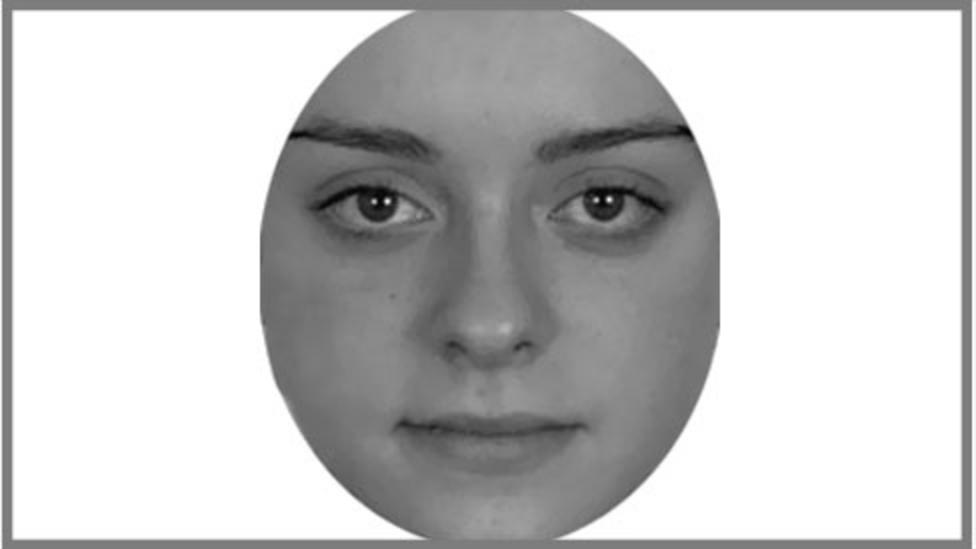 """In one tricky attention test used by researchers, the idea is to avoid clicking this face """"Betty"""" among a series of male faces"""