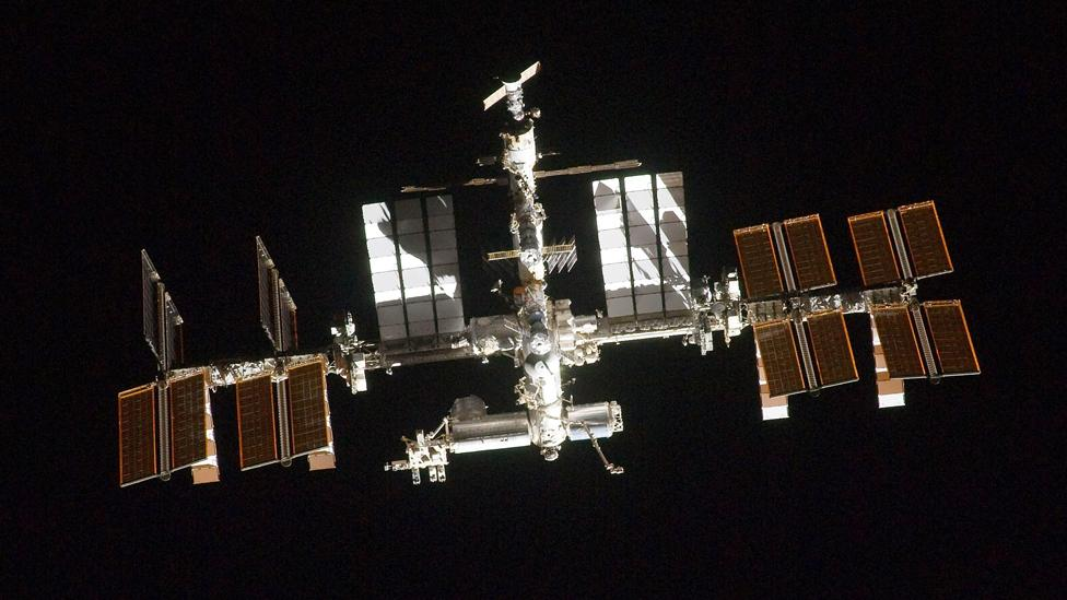 Astronauts on the International Space Station (ISS) create water supplies from their own urine (Nasa/Getty Images)