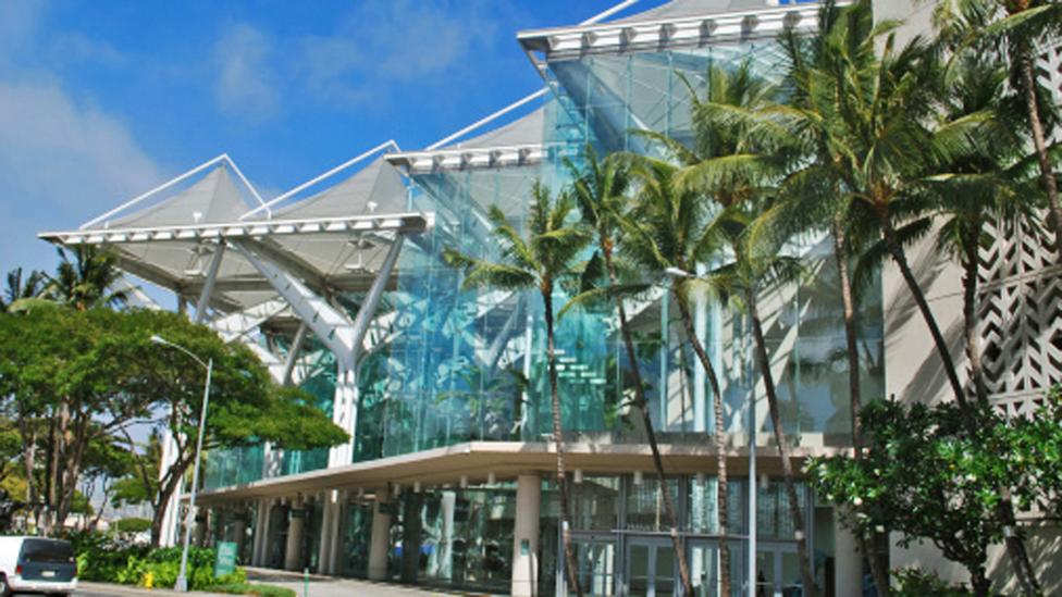 Hawaii Convention Center is one of the most visited landmarks of the city. (Getty Images)