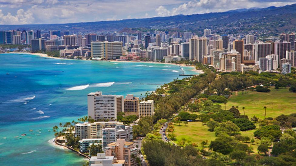 Hawaii's prime location between Asia and the US makes it a popular convention choice. (Philip Dyer/ Getty Images)