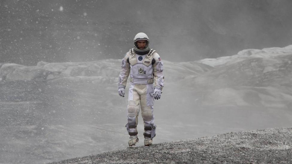 Interstellar sees astronauts use a wormhole to reach new planets (Warner Bros)