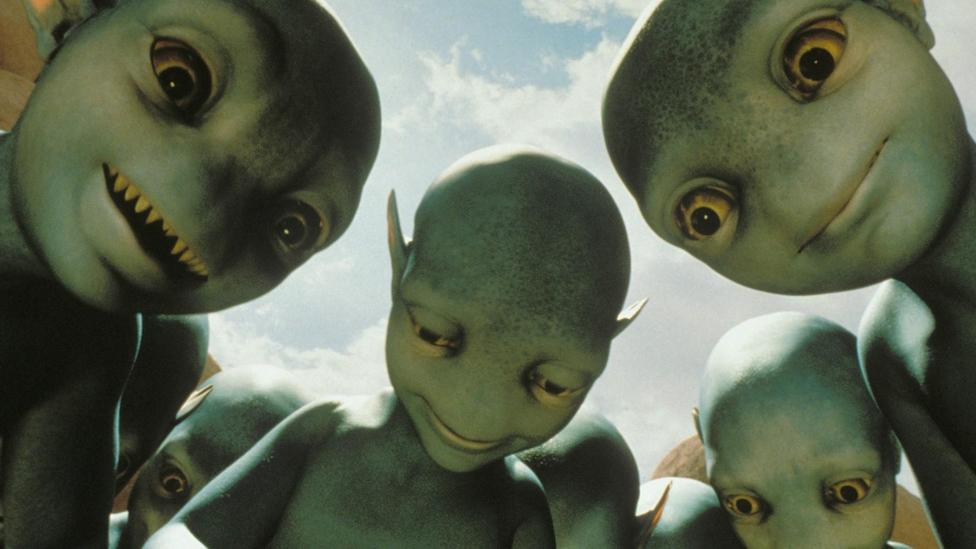 The aliens we meet might not be as friendly as they first seem (Dreamworks)