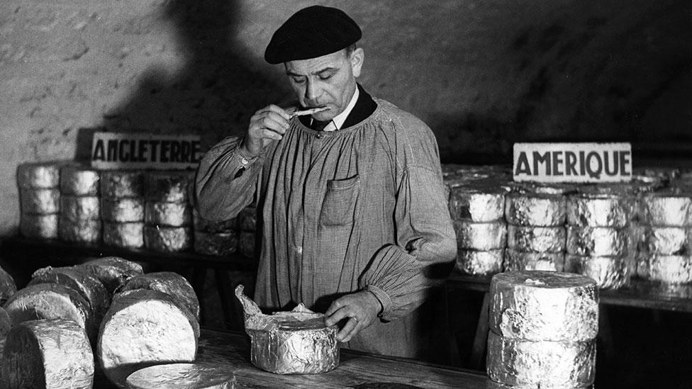 50 shades of whey - researchers have devised a set of 27 words for describing Cheddar alone (Getty)