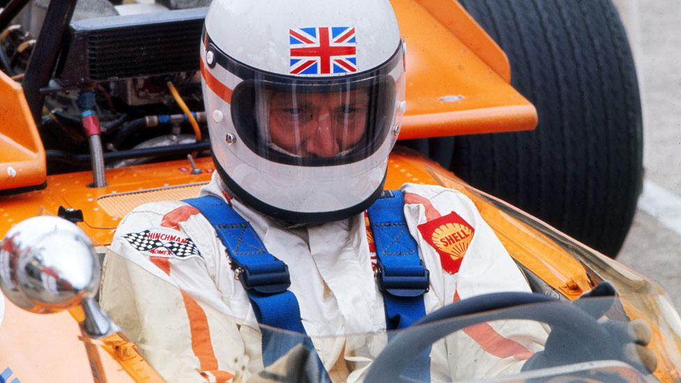 Formula 1 driver Derek Bell was committed to the moment at hand. (Colorsport/Corbis)