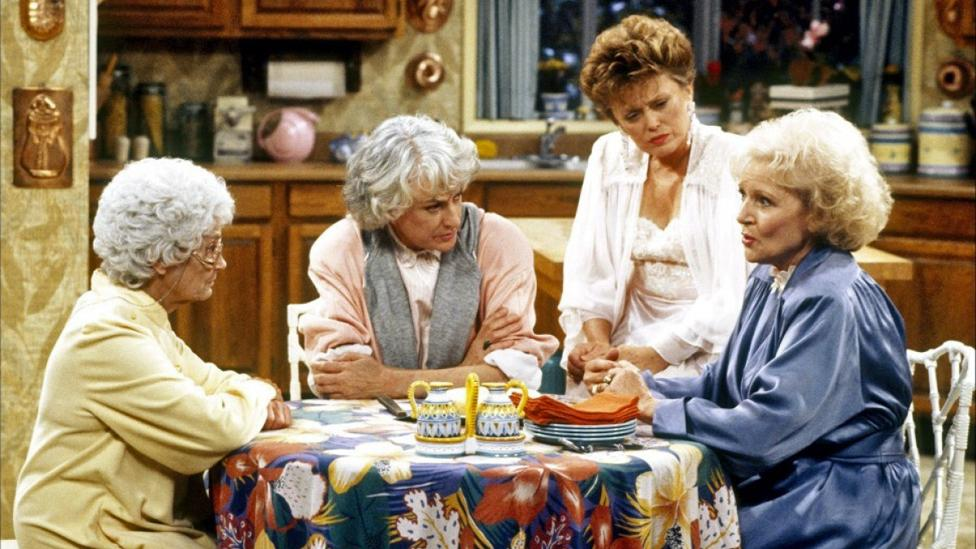 Gay characters throughout most of TV history were deeply hidden to avoid censorship – some critics allege the female characters in The Golden Girls are stand-ins for gay men (NBC)