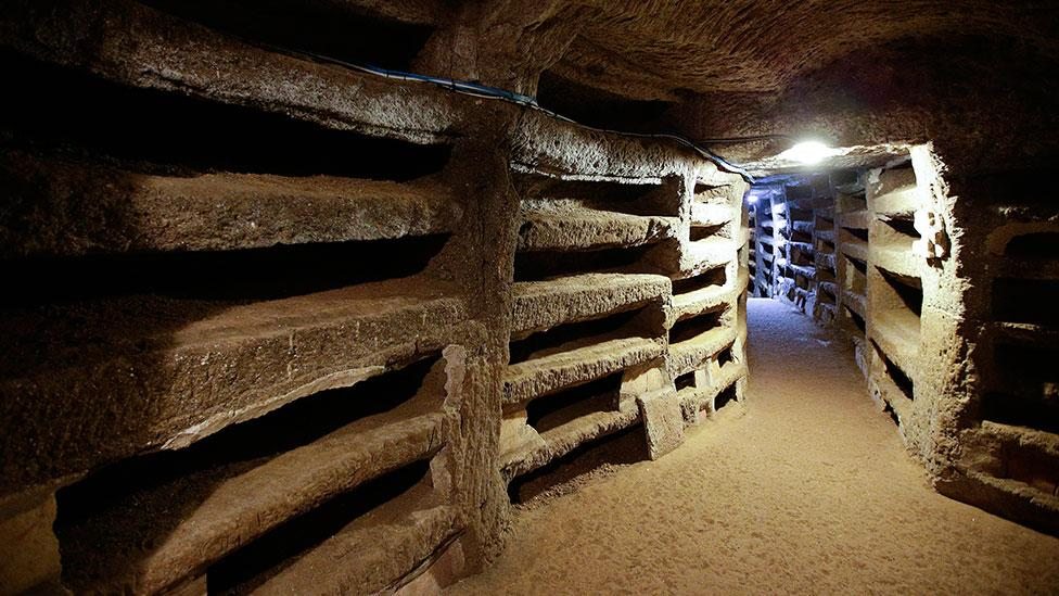 The Catacombs of Santa Priscilla reopened to the public in 2013 after years of restoration (Max Rossi/Reuters/Corbis)