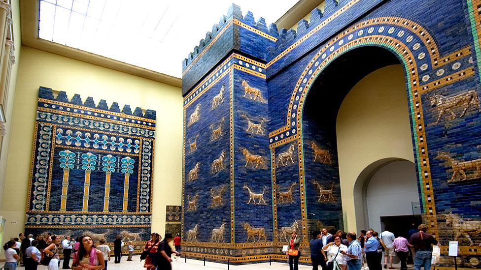 The Gate is one of the centrepieces of the Pergamon Museum in Berlin's collection (Alamy)