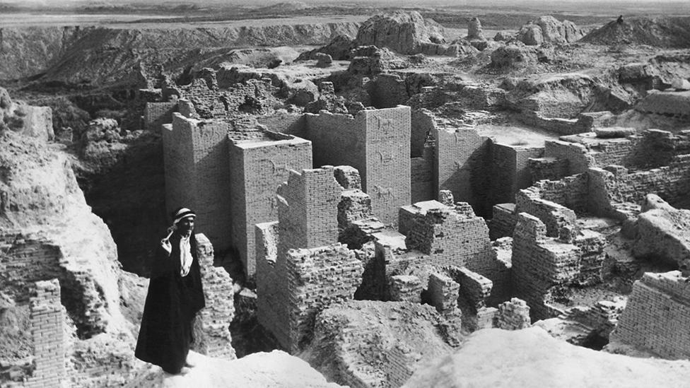 Excavations of the ancient city resumed after the end of World War I (Rex Features)