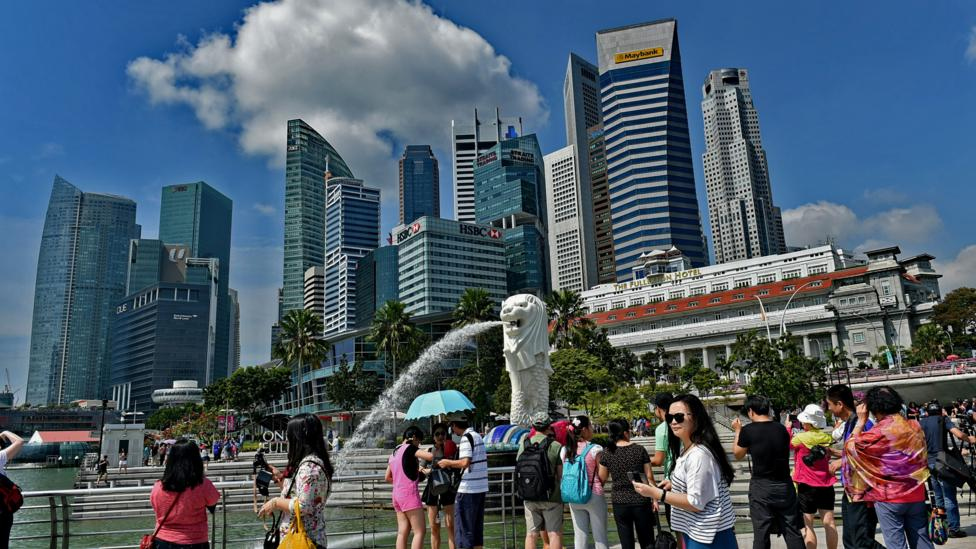 There's a reason why Singapore ranks high on surveys of places to live and work (Credit: Roslan Rahman/AFP/Getty Images)