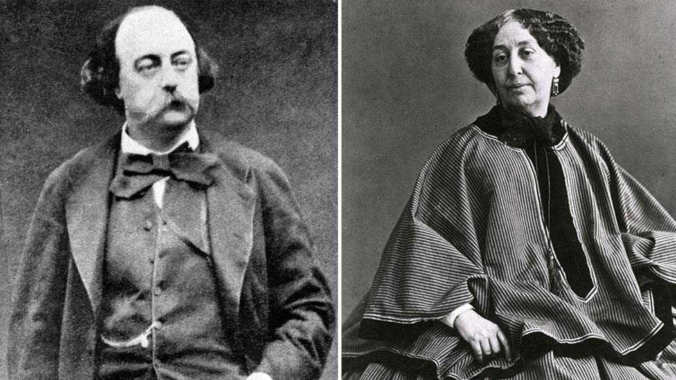 """Gustave Flaubert called George Sand """"a great cow full of ink"""" (Credit: GL Archive/Pictorial Press Ltd  Alamy)"""
