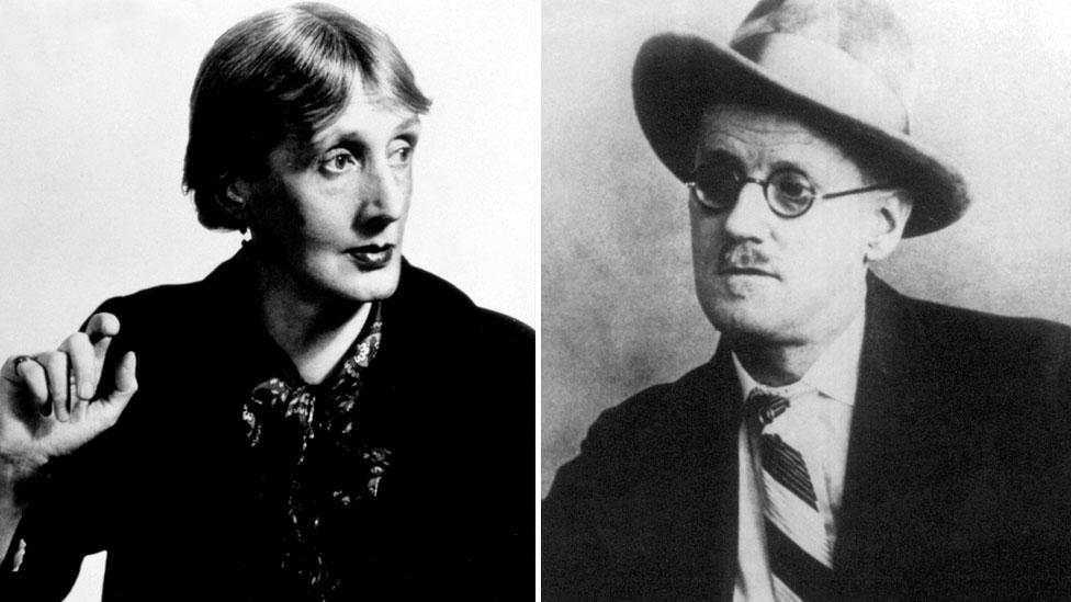 """Virginia Woolf described James Joyce's Ulysses as """"an illiterate, underbred book"""" (Credit: Everett Collection Historical/Pictorial Press Ltd Alamy)"""