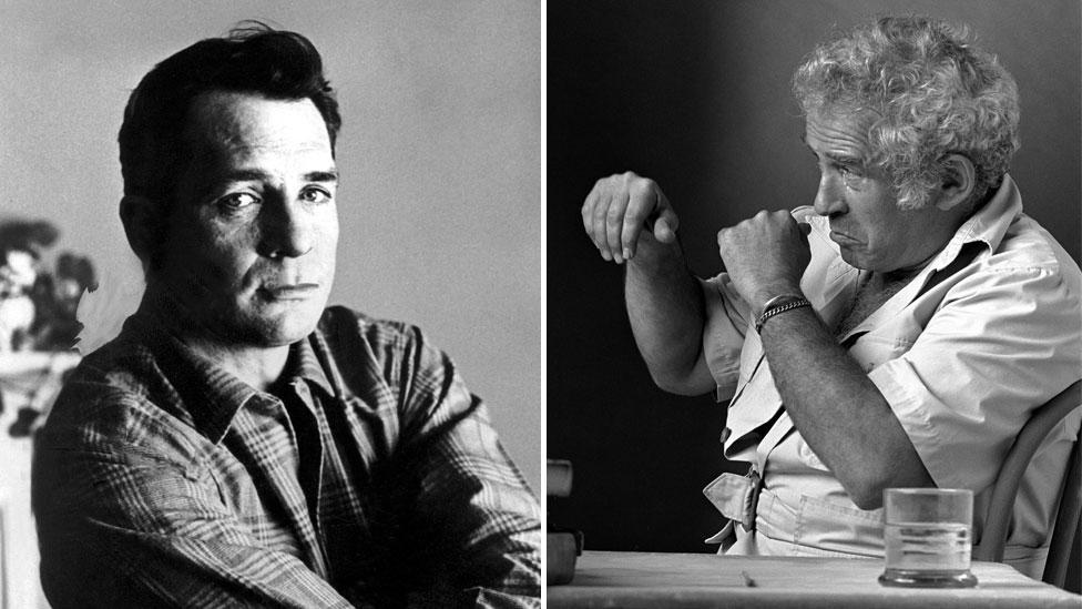 "Mailer said Kerouac was ""as pretentious as a rich whore, sentimental as a lollypop"" (Credit: Rex/Robert Belott Alamy)"