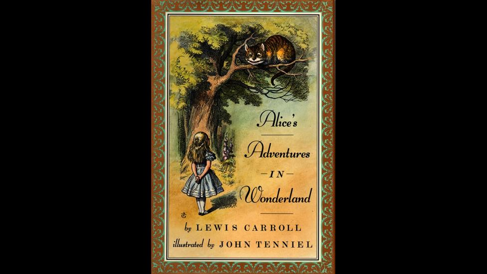4. Lewis Carroll, Alice's Adventures in Wonderland (1865)