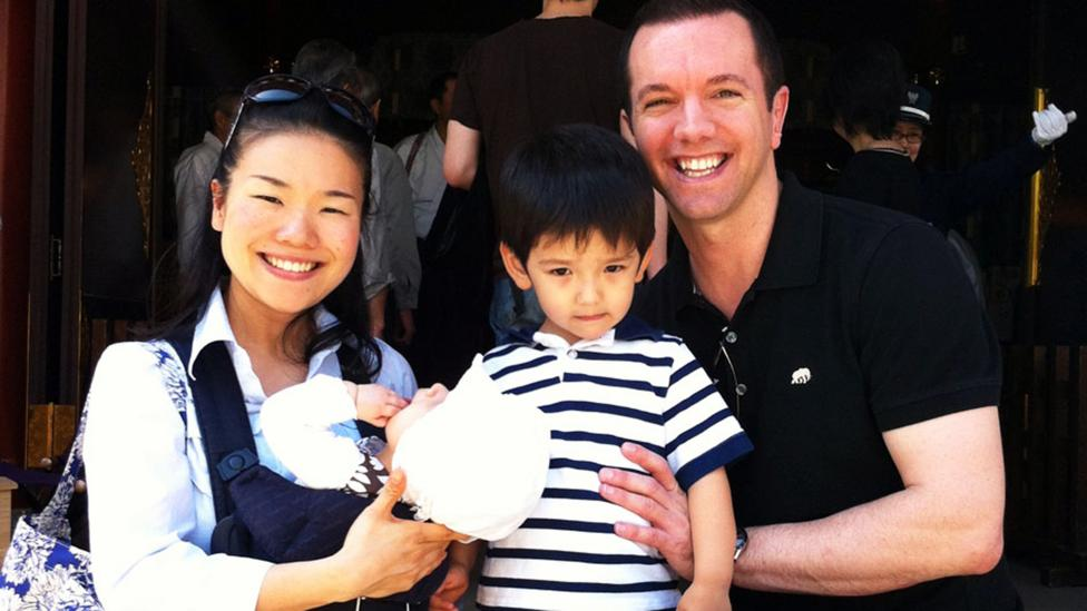 Todd Musgrove and his family enjoy the safety of Tokyo as expats. (Credit: Todd Musgrove)